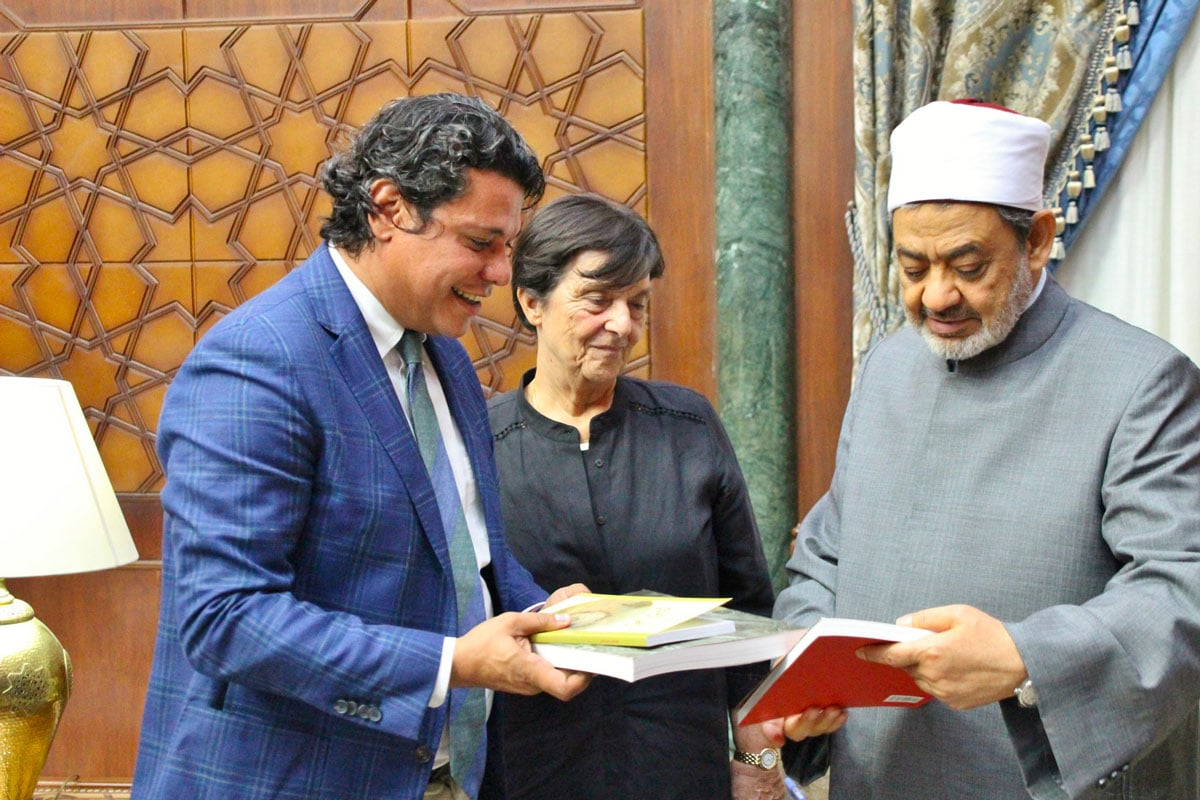 """Featured image for """"Incontro con il grande imam el-Tayeb: il Meeting «semina speranza nelle nostre anime»"""""""