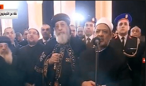"""Featured image for """"#standtogether, inaugurate insieme al Cairo cattedrale e moschea"""""""