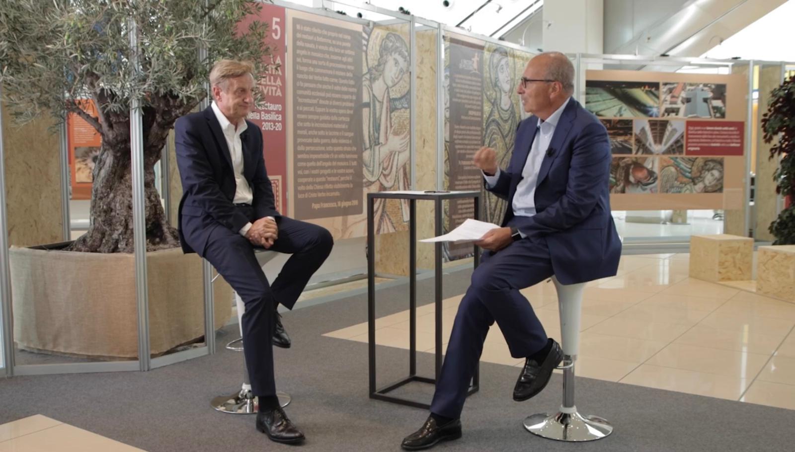 "Featured image for """"Raccontando il Meeting"", l'intervista di Roberto Fontolan a Bernhard Scholz"""