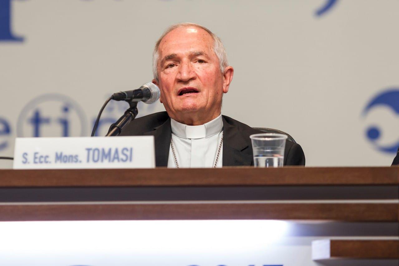 """Featured image for """"Monsignor Silvano Tomasi sarà cardinale nel Concistoro del 28 novembre"""""""