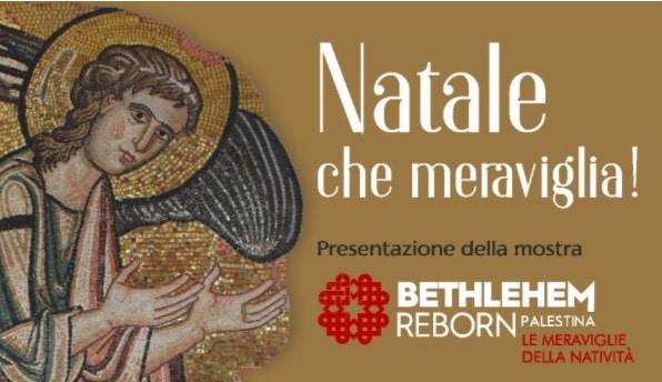 """Featured image for """"Natale, che meraviglia! Presentazione della mostra Bethlehem Reborn"""""""