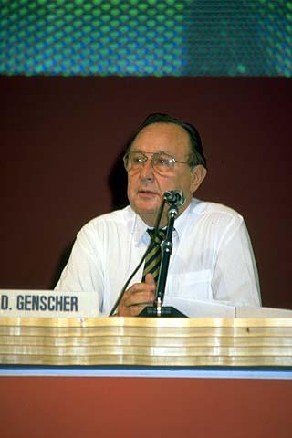 Genscher Hans Dietrich